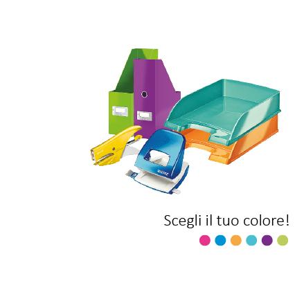 Linea Leitz WOW per un tocco di colore al tuo Home Office