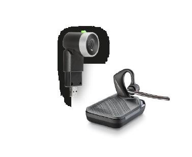 Cuffie Voyager 5200UC e EagleEye Mini USB di Poly