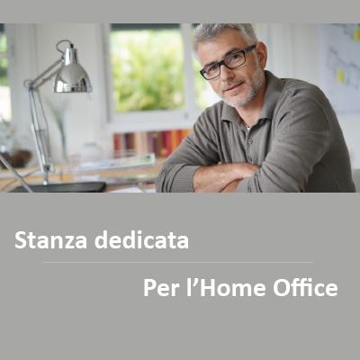 Stanza dedicata per l'Home Office